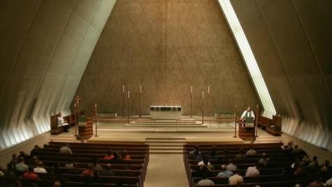 Thumbnail for entry Kramer Chapel Sermon - September 11, 2014