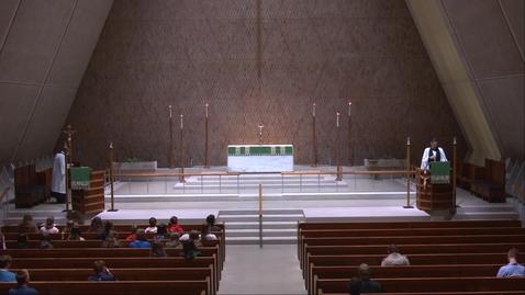 Thumbnail for entry Kramer Chapel Sermon - Friday, June 25, 2021