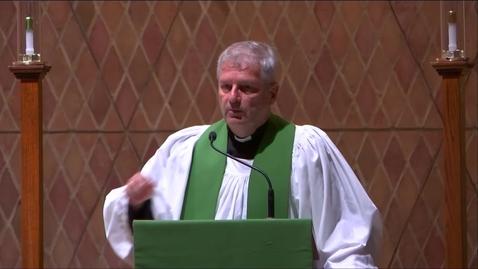 Thumbnail for entry Kramer Chapel Sermon - Friday, September 20, 2019