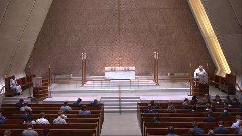 Thumbnail for entry Kramer Chapel Sermon - Thursday, May 20, 2021