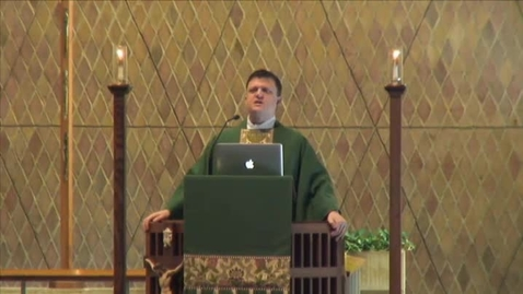 Thumbnail for entry Kramer Chapel Sermon - January 28, 2015