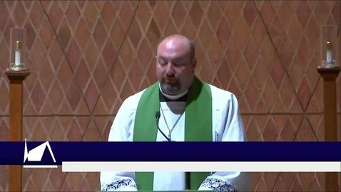 Thumbnail for entry Kramer Chapel Sermon - Monday, September 27, 2021