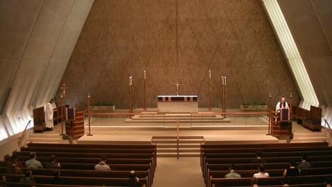 Thumbnail for entry Kramer Chapel Sermon - February 25, 2016