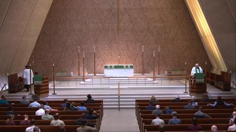 Thumbnail for entry Kramer Chapel Sermon - Thursday, September 24, 2020
