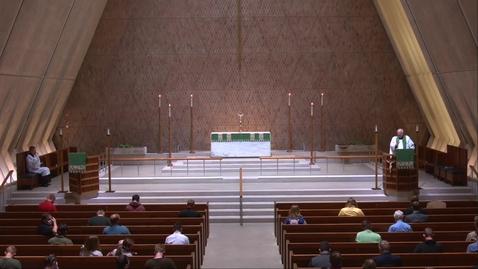 Thumbnail for entry Kramer Chapel Sermon - Thursday, September 17, 2020