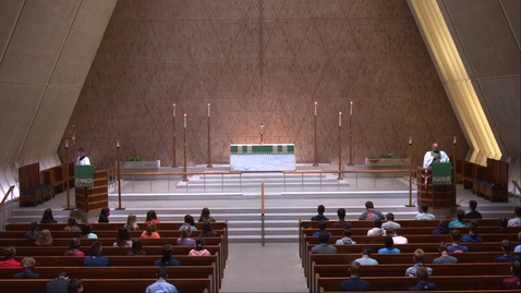 Thumbnail for entry Kramer Chapel Sermon - Wednesday, July 29, 2020