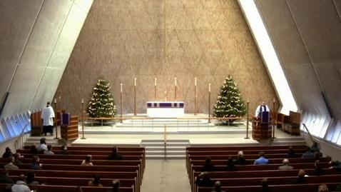 Thumbnail for entry Kramer Chapel Sermon - December 15, 2016