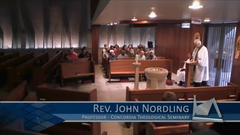 Thumbnail for entry Kramer Chapel Sermon - July 06, 2015