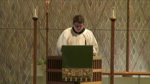 Thumbnail for entry Kramer Chapel Sermon - February 10, 2015