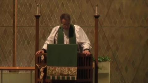 Thumbnail for entry Kramer Chapel Sermon - October 20, 2015
