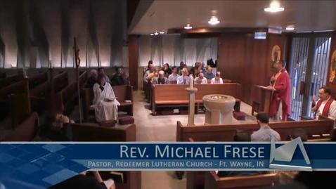 Thumbnail for entry Kramer Chapel Sermon - June 29, 2015