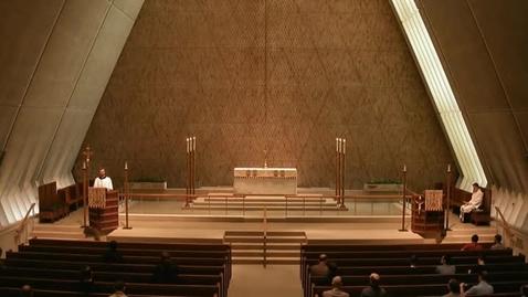 Thumbnail for entry Kramer Chapel Sermon - May 11, 2015