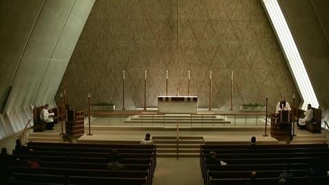 Thumbnail for entry Kramer Chapel Sermon - March 30, 2015