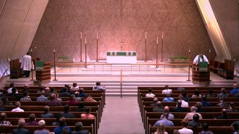 Thumbnail for entry Kramer Chapel Sermon - Thursday, October 10, 2019