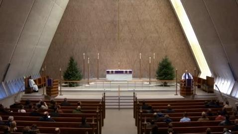 Thumbnail for entry Kramer Chapel Sermon - December 08, 2017