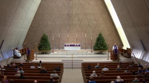 Thumbnail for entry Kramer Chapel Sermon - December 09, 2016