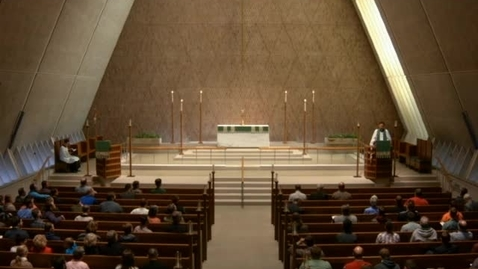 Thumbnail for entry Kramer Chapel Sermon - October 14, 2016