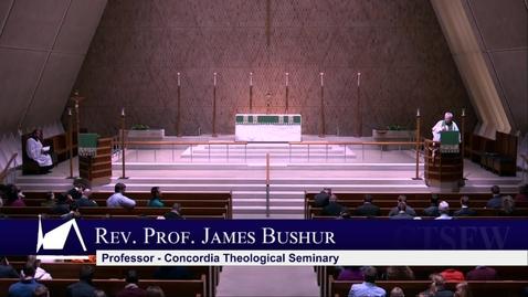 Thumbnail for entry Kramer Chapel Sermon - Tuesday, February 04, 2020