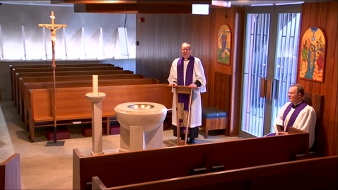 Thumbnail for entry Kramer Chapel Sermon - Thursday, March 26, 2020