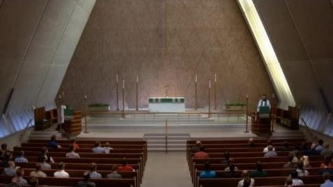 Thumbnail for entry Kramer Chapel Sermon - September 25, 2017