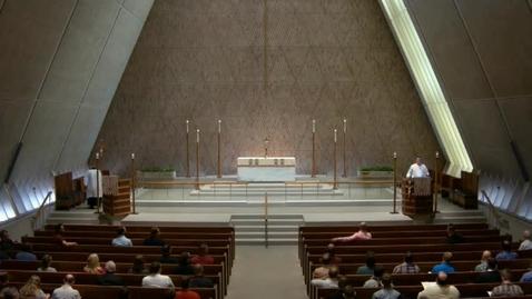 Thumbnail for entry Kramer Chapel Sermon - June 12, 2017