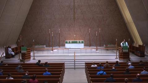 Thumbnail for entry Kramer Chapel Sermon - Tuesday, October 20, 2020