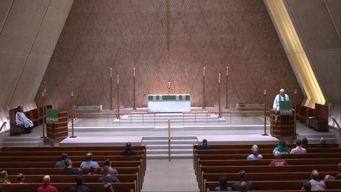 Thumbnail for entry Kramer Chapel Sermon - Tuesday, June 15, 2021