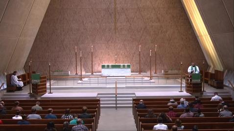 Thumbnail for entry Kramer Chapel Sermon - Friday, September 24, 2021