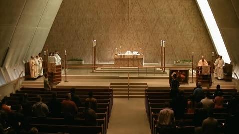 Thumbnail for entry Kramer Chapel Sermon - March 29, 2016