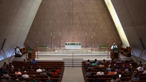 Thumbnail for entry Kramer Chapel Sermon - September 11, 2017