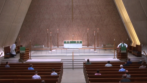 Thumbnail for entry Kramer Chapel Sermon - Monday, July 26, 2021