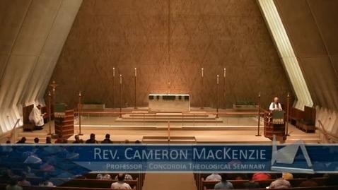 Thumbnail for entry Kramer Chapel Sermon - July 1, 2016