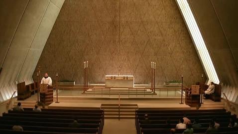 Thumbnail for entry Kramer Chapel Sermon - May 18, 2015