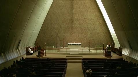Thumbnail for entry Kramer Chapel Sermon - November 14, 2014