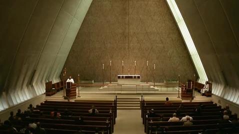 Thumbnail for entry Kramer Chapel Sermon - December 01, 2014