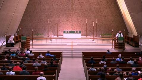Thumbnail for entry Kramer Chapel Sermon - Monday, October 07, 2019