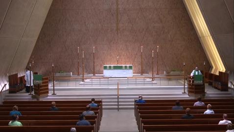 Thumbnail for entry Kramer Chapel Sermon - Thursday, July 09, 2020
