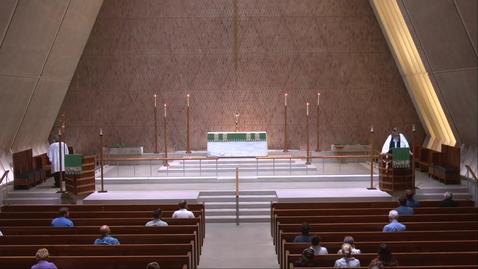 Thumbnail for entry Kramer Chapel Sermon - Monday, July 19, 2021