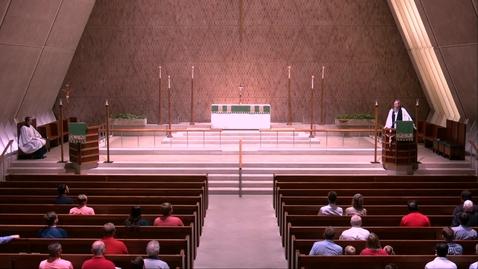 Thumbnail for entry Kramer Chapel Sermon - Tuesday, July 30, 2019