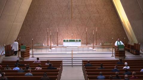 Thumbnail for entry Kramer Chapel Sermon - Monday, October 05, 2020