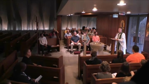Thumbnail for entry Kramer Chapel Sermon - July 17, 2015