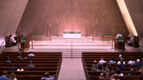 Thumbnail for entry Kramer Chapel Sermon - Thursday, July 18, 2019