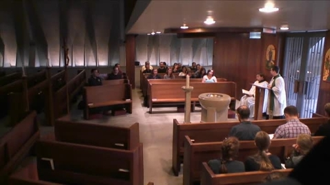 Thumbnail for entry Kramer Chapel Sermon - July 10, 2015