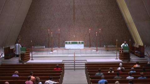 Thumbnail for entry Kramer Chapel Sermon - Monday, July 12, 2021