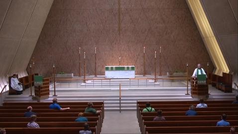 Thumbnail for entry Kramer Chapel Sermon - Friday, June 26, 2020