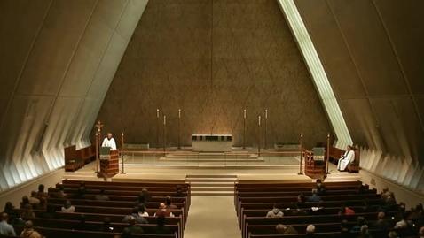 Thumbnail for entry Kramer Chapel Sermon - October 06, 2014