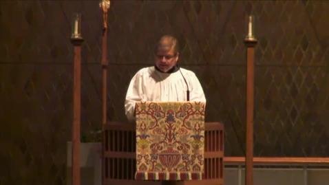 Thumbnail for entry Kramer Chapel Sermon - April 09, 2015
