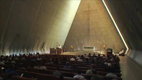 Thumbnail for entry Kramer Chapel Sermon - September 08, 2014