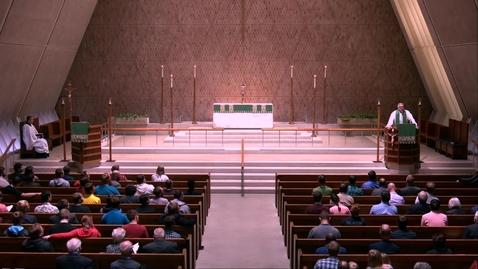 Thumbnail for entry Kramer Chapel Sermon - Friday, October 04, 2019