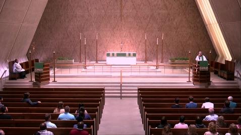 Thumbnail for entry Kramer Chapel Sermon - Monday, July 15, 2019